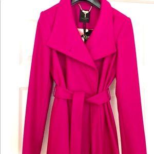NWOT Ted Baker Paris Cashmere/Wool Coat